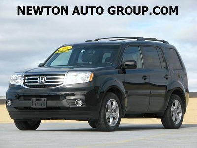 2013 Honda Pilot EX-L rear DVD leather Newton, MA, Bosto