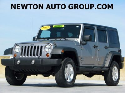 2013 Jeep Wrangler Unlimited Sport 4WD auto Newton, MA, Boston, MA