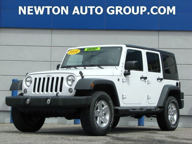 2014 Jeep Wrangler Unlimited Sport 4WD auto Newton, MA, Boston, MA