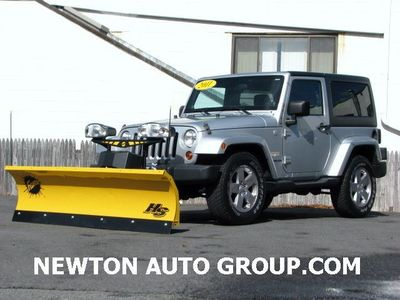 2011 Jeep Wrangler Sahara 4WD Auto fisher plow 7' Boston, M