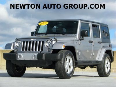 2015 Jeep Wrangler Unlimited Sahara navigation leather Newton, Boston