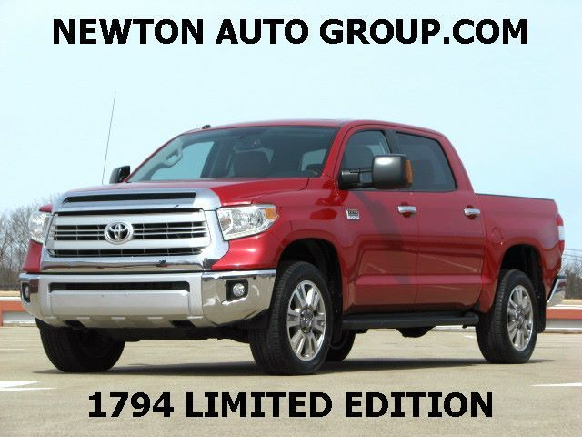 2014 Toyota Tundra 1794 Edition 4WD Crew Max Short Bed