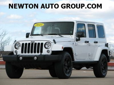 2015 Jeep Wrangler Unlimited Altitude Sahara Navi leather Boston, MA