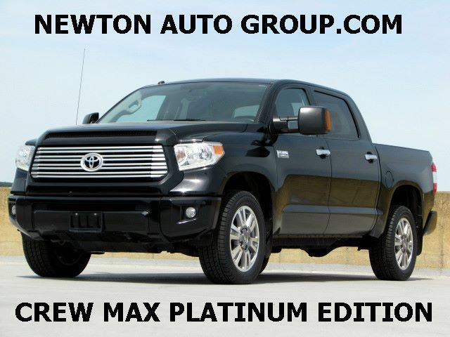 2015 Toyota Tundra Platinum Edition 4WD Crew max short bed
