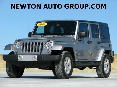 2014 Jeep Wrangler Unlimited SAHARA 4WD Navigation Leather Newton MA,